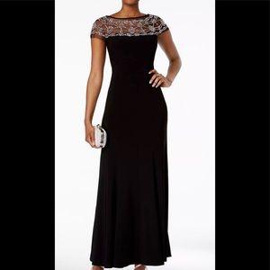Formal Dress Sizes 14 16 18 Black Tie Evening Gown